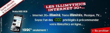 Illimythics : SFR lance ses forfaits DATA illimités pour mobiles